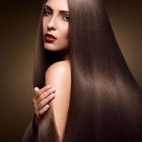 Mái tóc được duỗi thẳng tuyệt đối, tự nhiên với phương pháp duỗi hơi nước