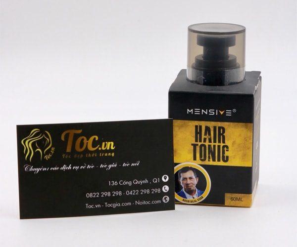 Tóc khoẻ đẹp từ chân đến ngọn chỉ trong 1 bộ sản phẩm Hair Treatment Shampoo và Tonic Hair của Mensive